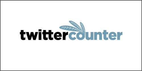ツイッターアカウントの成長度合いを把握&予測出来るツール「twittercounter」