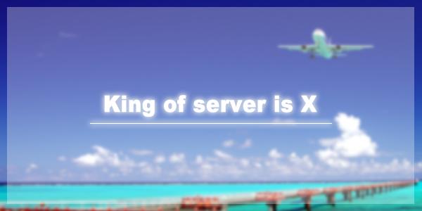 キングオブサーバーはエックスサーバー|私がXserverをオススメする10個の理由