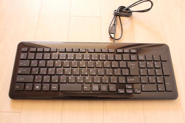 無名のPC付属キーボード