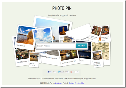 Photo Pin   Free Photos for Bloggers via Creative Commons