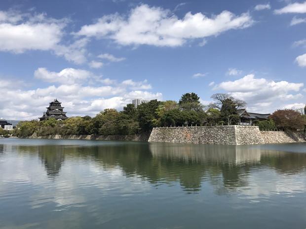 広島城到着!